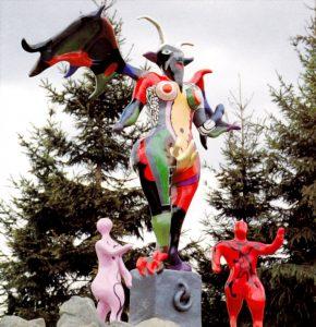 Niki de Saint Phalle Le Diable 1985