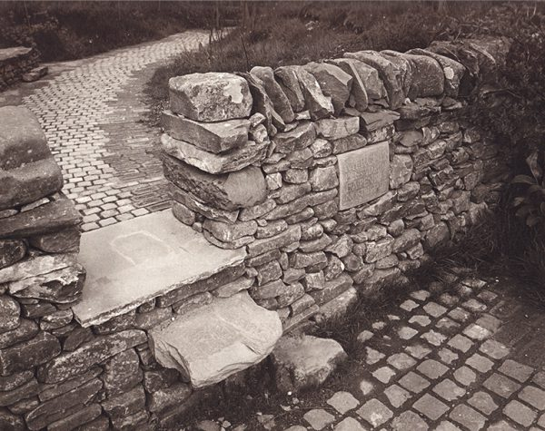 Ian Hamilton Finlay A Country Lane with Stiles 1988