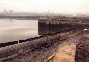 Middle Dock reconstruction