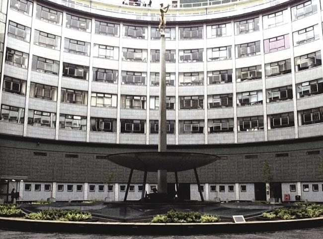 TB Huxley Jones Helios installed at Television Centre
